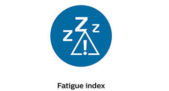 Fatigue index and driver alert