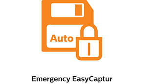 Emergency EasyCapture, to always catch the unexpected