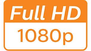 1080p 全高清分辨率,呈现清晰细节