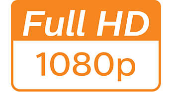 1080p Full HD 解析度呈現高畫質細節