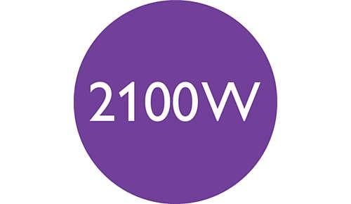 2100W aan snelle, hoogwaardige droogkracht
