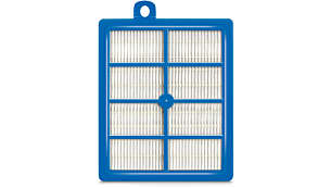 Allergy H13 exhaust filter for excellent filtration