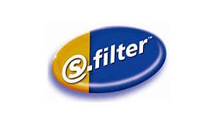 Standardowe mocowanie s-filter® ułatwiające wymianę