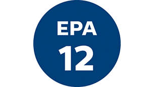 EPA12 exhaust filter for excellent filtration