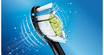 Чистящая насадка DiamondClean для наиболее эффективного осветления зубов от Sonicare