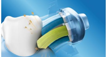Up to 2x better for gums than a manual brush
