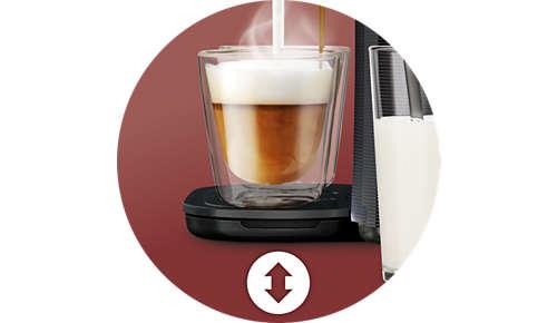 Instelbare bak voor koppen van verschillende formaten