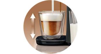 Repose-tasses ajustable s'adaptant à votre tasse préférée
