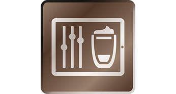 Personnalisez et enregistrez chaque boisson facilement via l'application