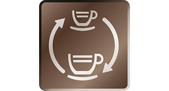 Variable brewing pressure for classic coffee and espresso