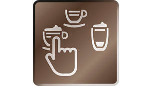 Many specialty coffees from espresso to Latte Macchiato