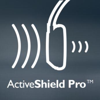 ActiveShield Pro™ mürasummutus vähendab müra kuni 99%