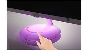 Ambiglow Plus-voet zorgt voor een meeslepende lichtervaring