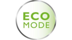 توفير استهلاك الطاقة في وضع eco مع مؤشر اتصال