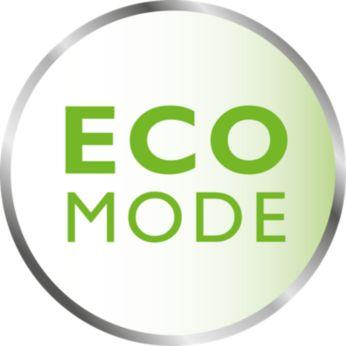 Энергосберегающий режим ECO с индикацией соединения