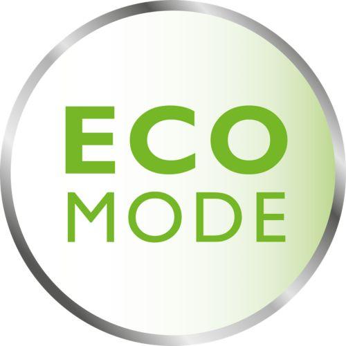 Energiebesparende ECO-modus met verbindingsindicatie