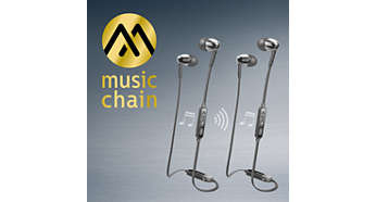 MusicChain™ allows easily music sharing with friend