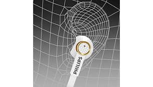 人體工學設計的橢圓形音管穩固而舒適地貼合