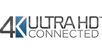 Rendimiento 4K Ultra HD Connected certificado por la industria