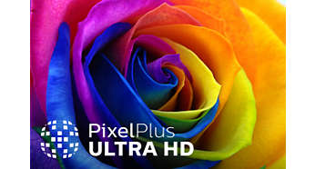 Pixel Plus UltraHD for vivid, natural, and real pictures