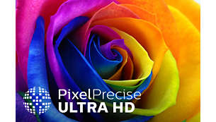 Pixel Precise UltraHD for vivid, natural, and real images