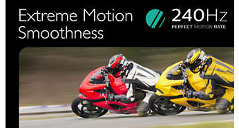 240 Perfect Motion Rate gives you smooth images