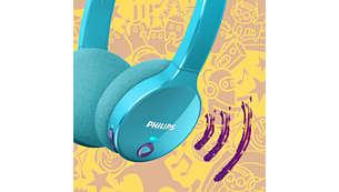 Neodymium-luidsprekerdrivers zorgen voor een puur, gebalanceerd geluid