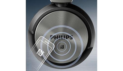 NFC-verbinding met één tik voor eenvoudig koppelen