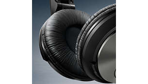 Soft, breathable ear cushions for long listening sessions