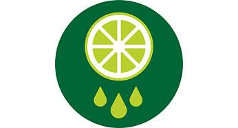 Incluye hojas verdes y frutos secos en las bebidas