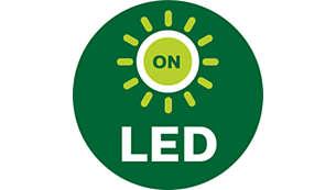 Indications par LED pour le remontage de l'appareil