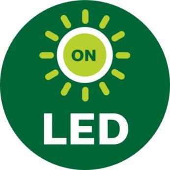 Đèn LED sẽ phản hồi sau khi bạn lắp lại