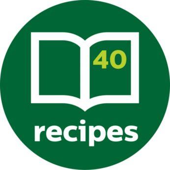 Включена е вдъхновяваща книжка с рецепти