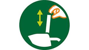 Couvercle amovible facilitant l'accès lors du nettoyage