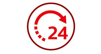 Ajuste a função de adiar início para até 24 horas