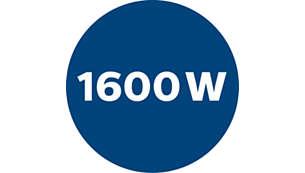 1600 瓦强劲马达,带来出色的清洁效果