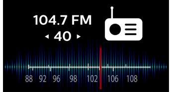 Acord digital FM cu scanare automata si presetari pentru utilizare simpla
