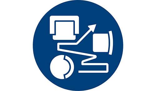 Smart Detection System passt Reinigung an Umgebung an