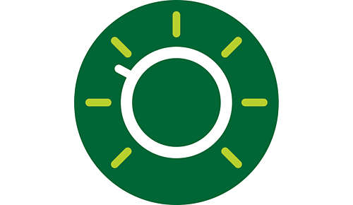 Intuïtieve knop voor eenvoudig gebruik