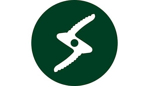Gezacktes Messer