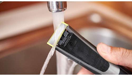 Resistente al agua: uso en seco y en húmedo