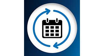 Vyměňujte každých 6měsíců pro optimální výkon při úklidu