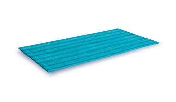Microfibre pads to effectively remove all dirt and stains