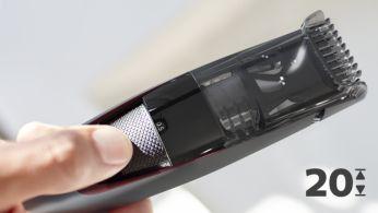 20uzamykacích nastavení dĺžky od 0,5 do 10mm spresnosťou na 0,5mm