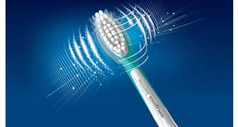 Patentierte Sonicare Zahnbürstentechnologie
