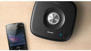 Écoutez de la musique dans une seule pièce sans fil par Bluetooth