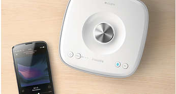 Play music in one room wirelessly via Bluetooth