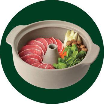 鍋中不要加入水