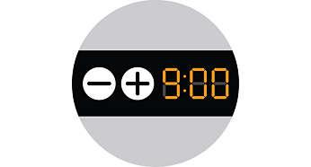 方便使用的 10 小時定時功能