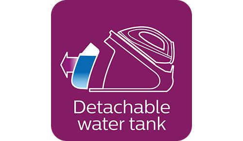 Serbatoio dell'acqua estraibile XL da 2,2 l: ideale per le famiglie